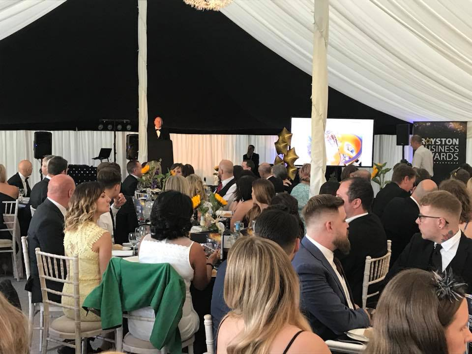 Royston Business Awards Burloes Hall Marquee